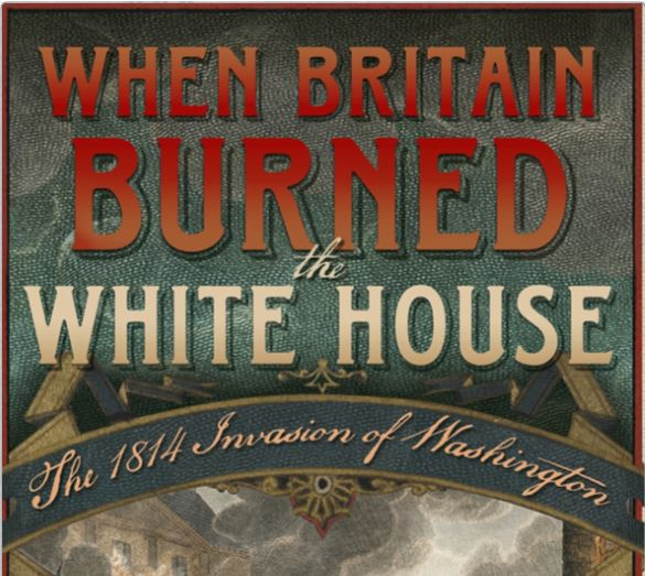 britain burned white house