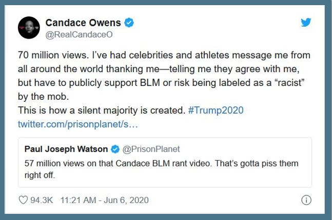 candace owens blm