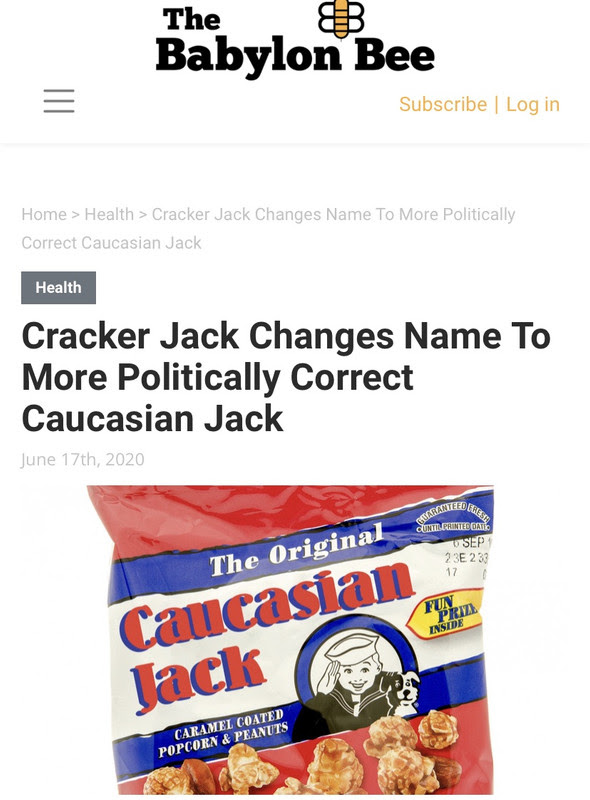 cracker jack caucasian