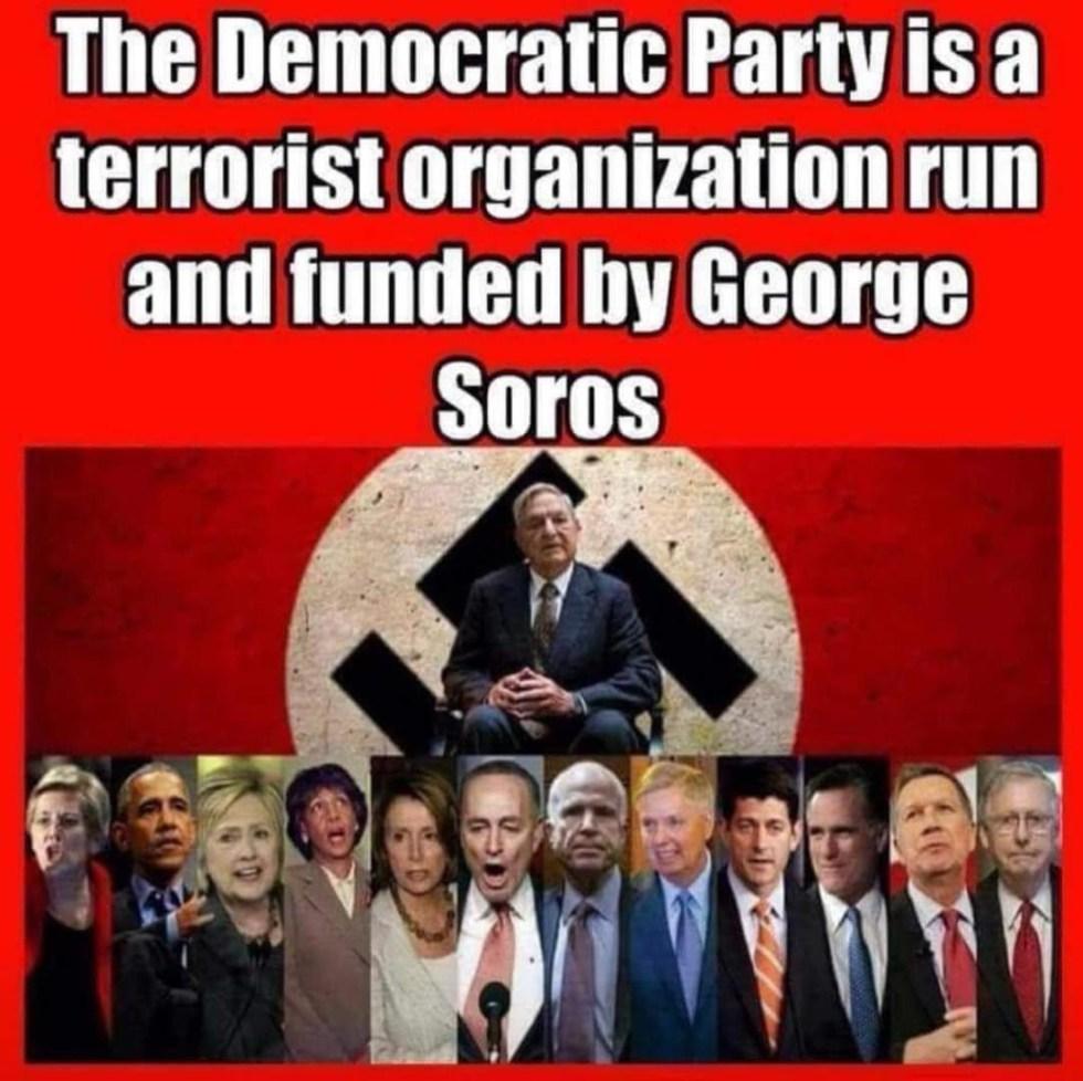 democrat party terrorist