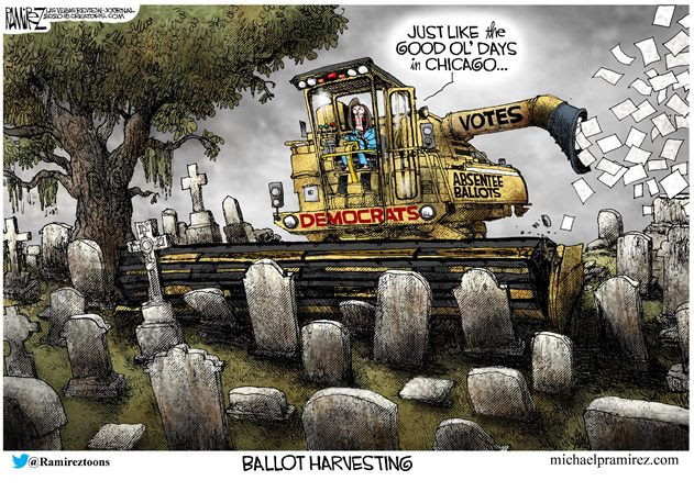 democrat voter harvest