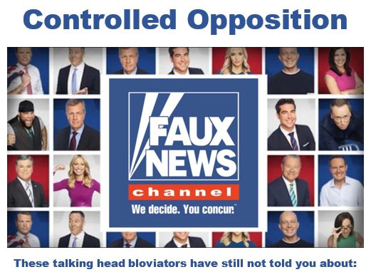 fox controlled opposition