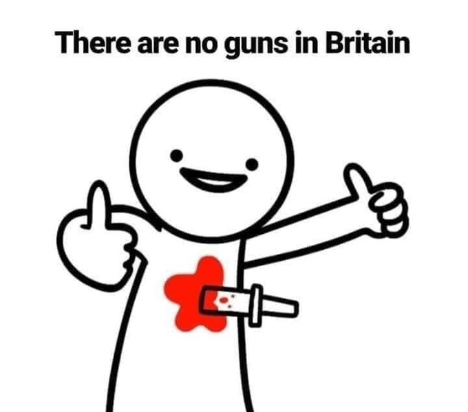gun knife britain