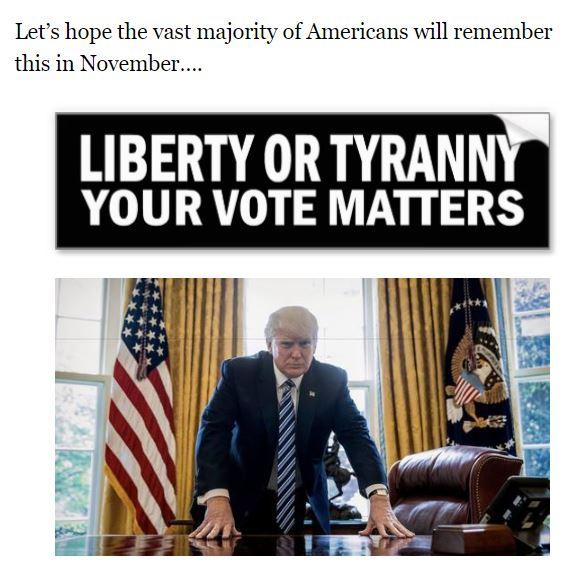 liberty or tyranny