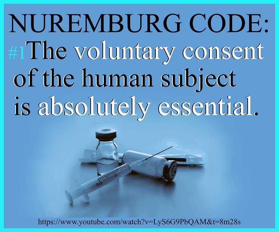 nuremburg code