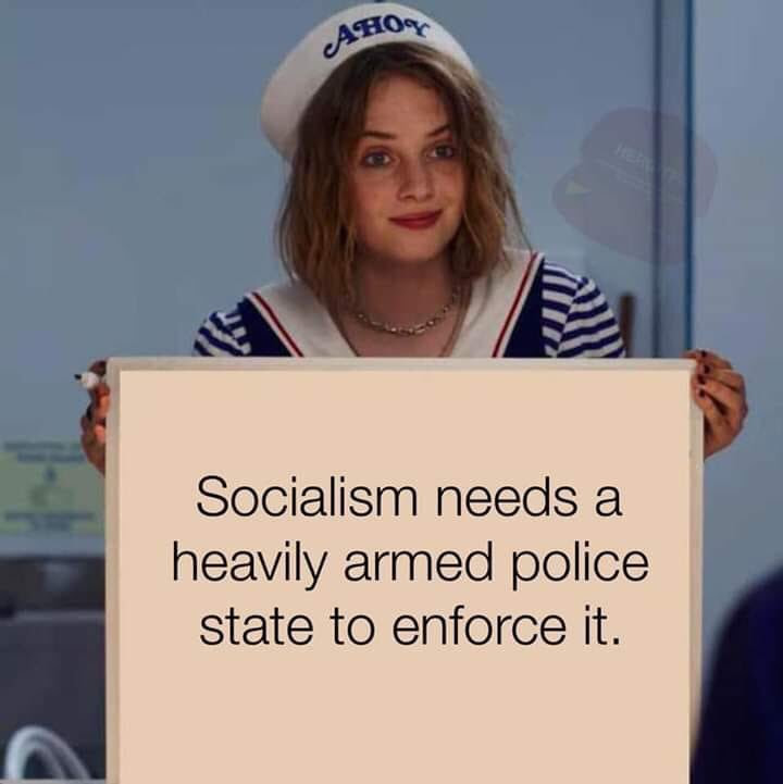 socialism police