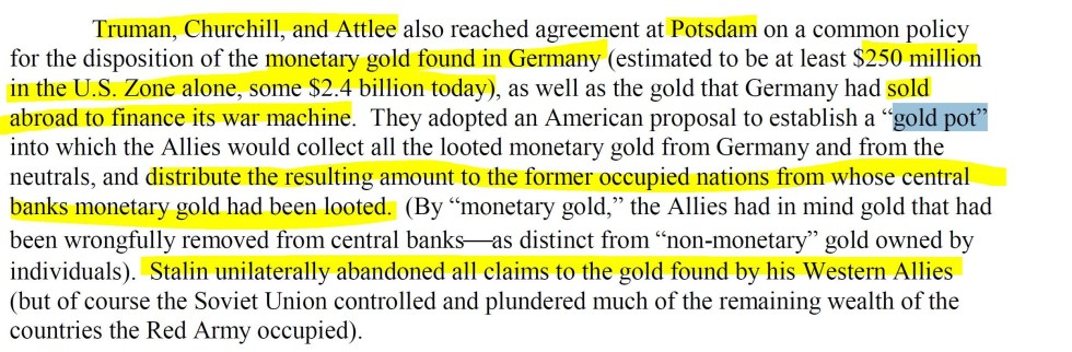 Potsdam gold