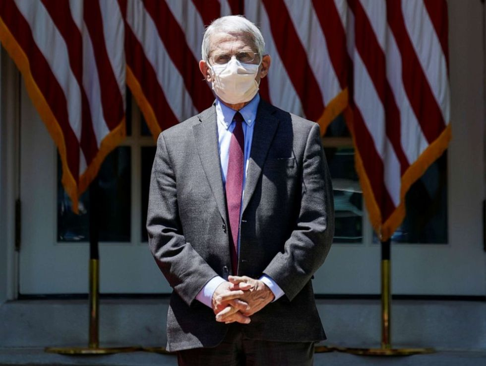 anthony fauci mask
