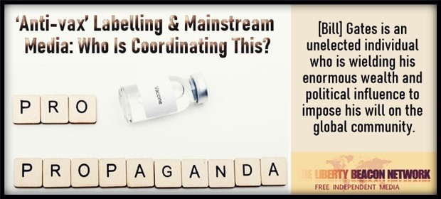 anti vax propaganda