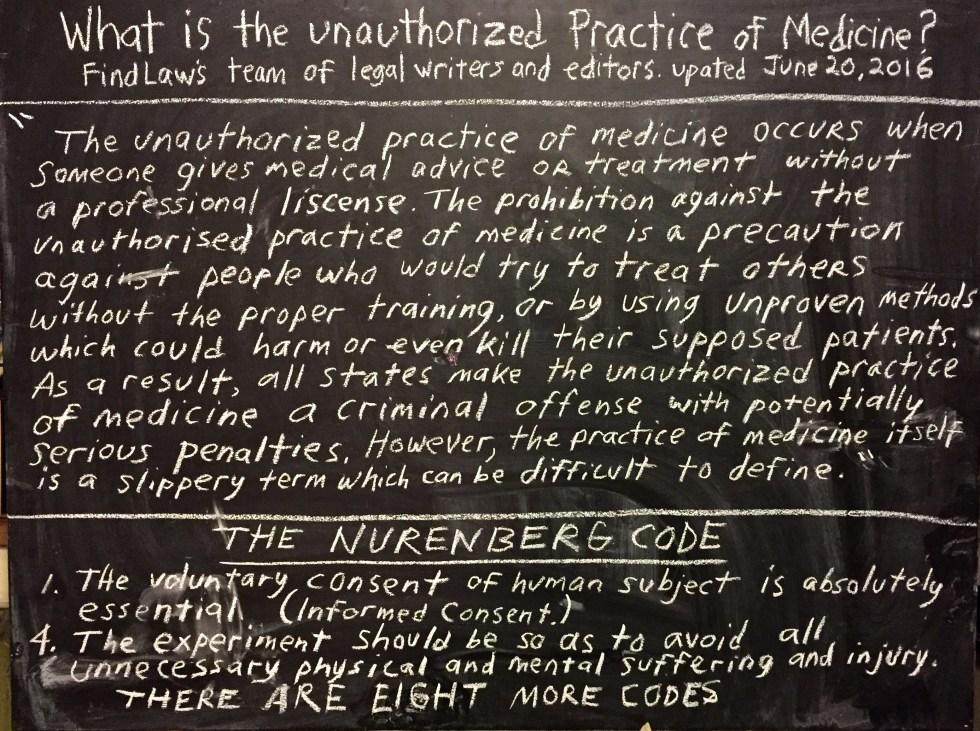 chalk practice medicine