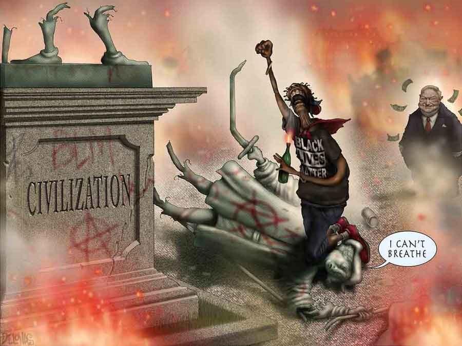 civilization blm soros constitution