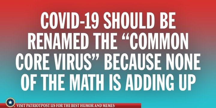 covid corona math