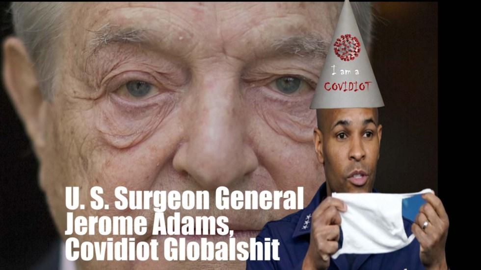 covidiot powell Soros