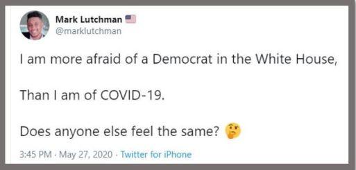 democrat white house covid