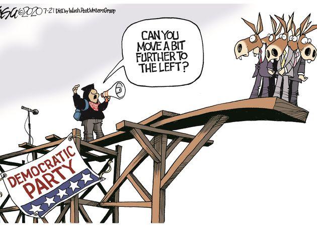democrats move left