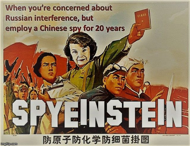 diane feinstein china
