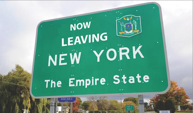 leave new york
