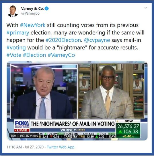 mail in ballot election fraud