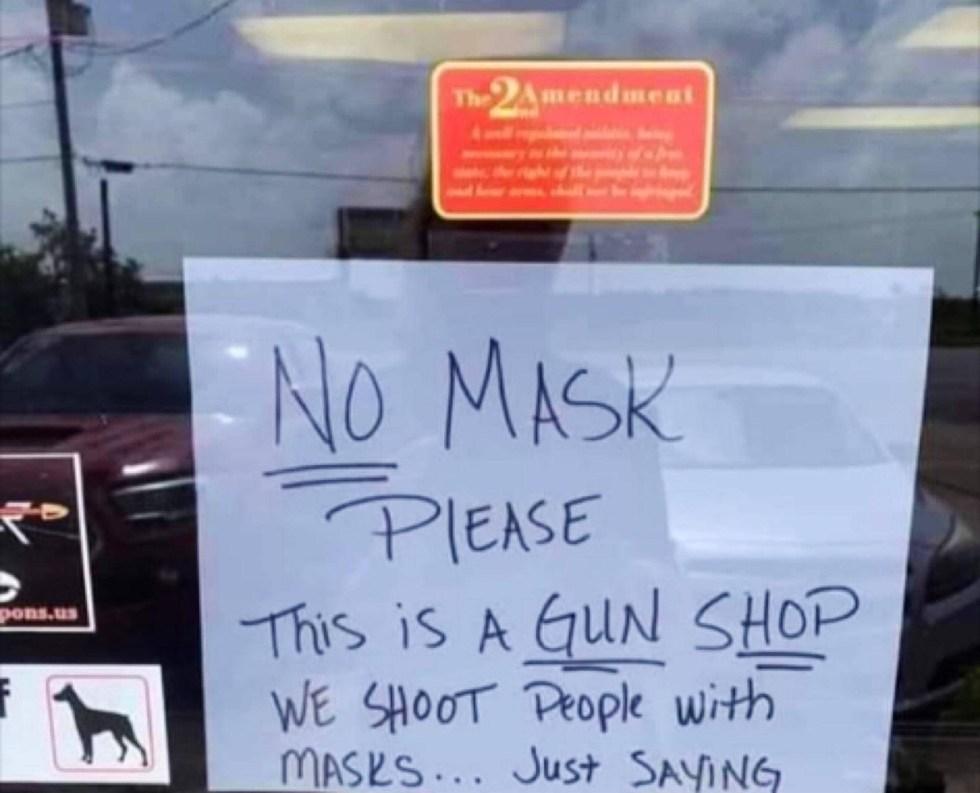 mask gun store