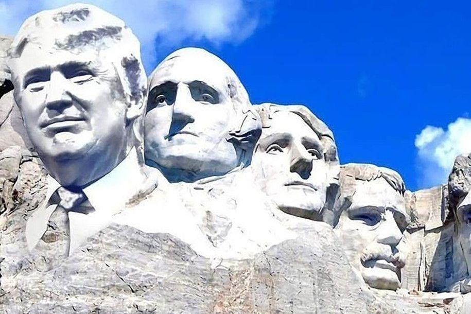 mt rushmore trump