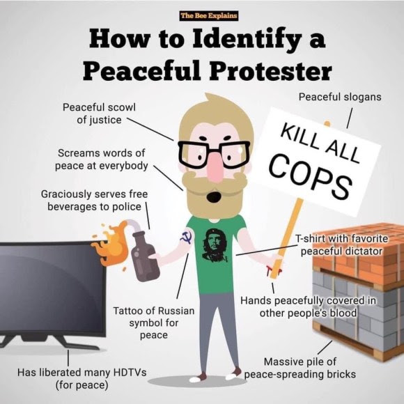 protester antifa