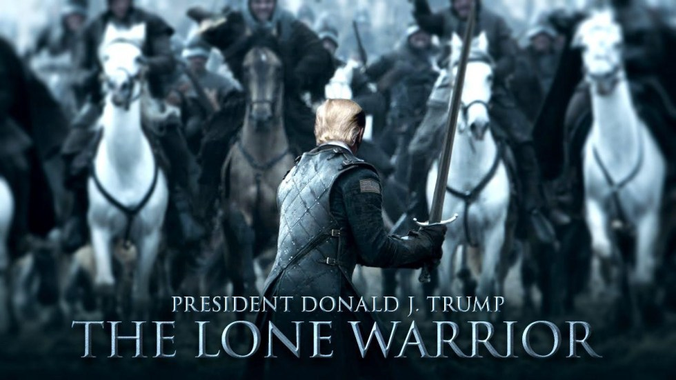 trump lone warrior