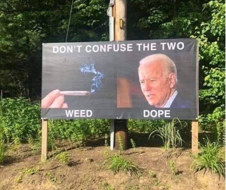 weed dope joe biden