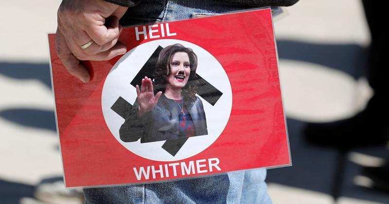 whitmer hitler