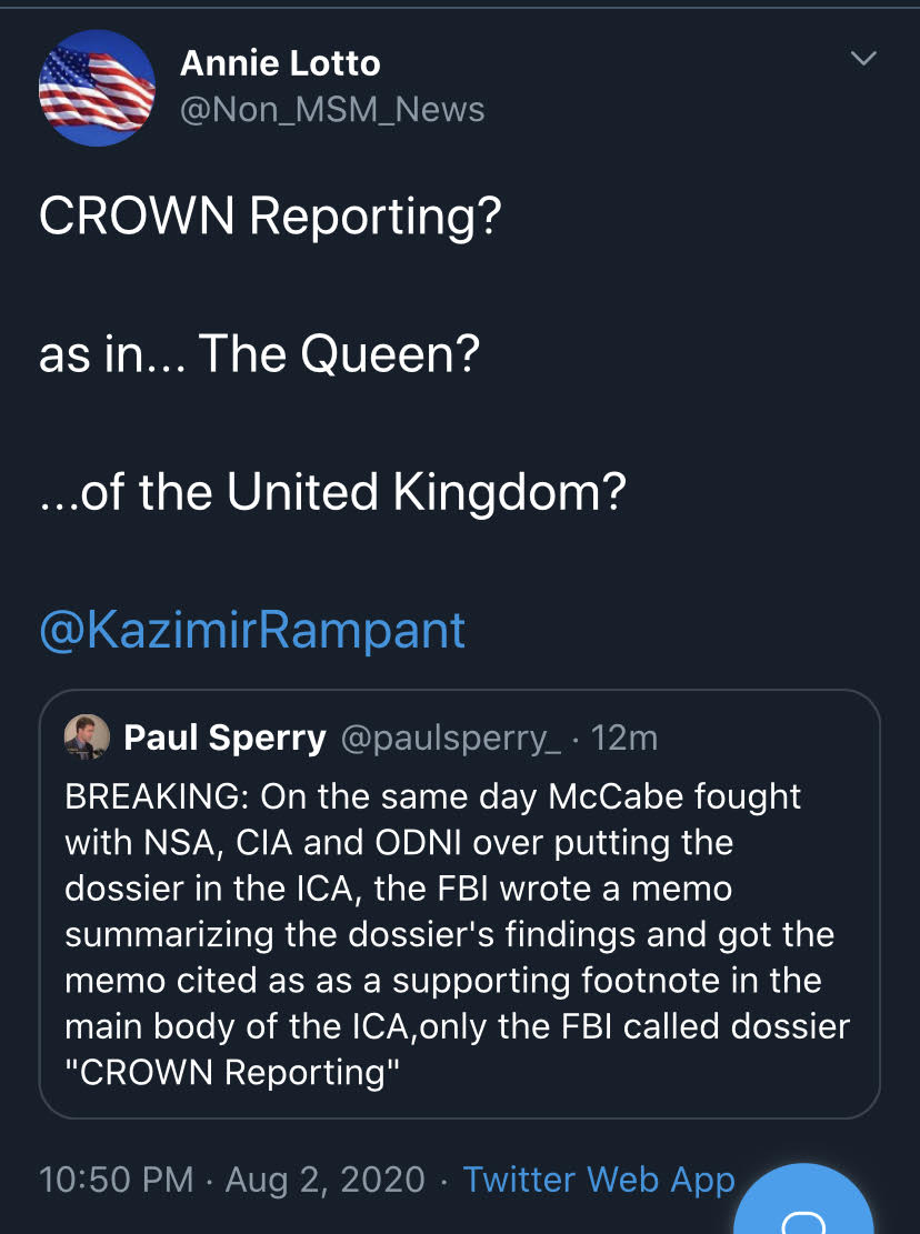 crown reporting 1