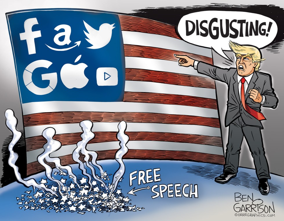 garrison free speech