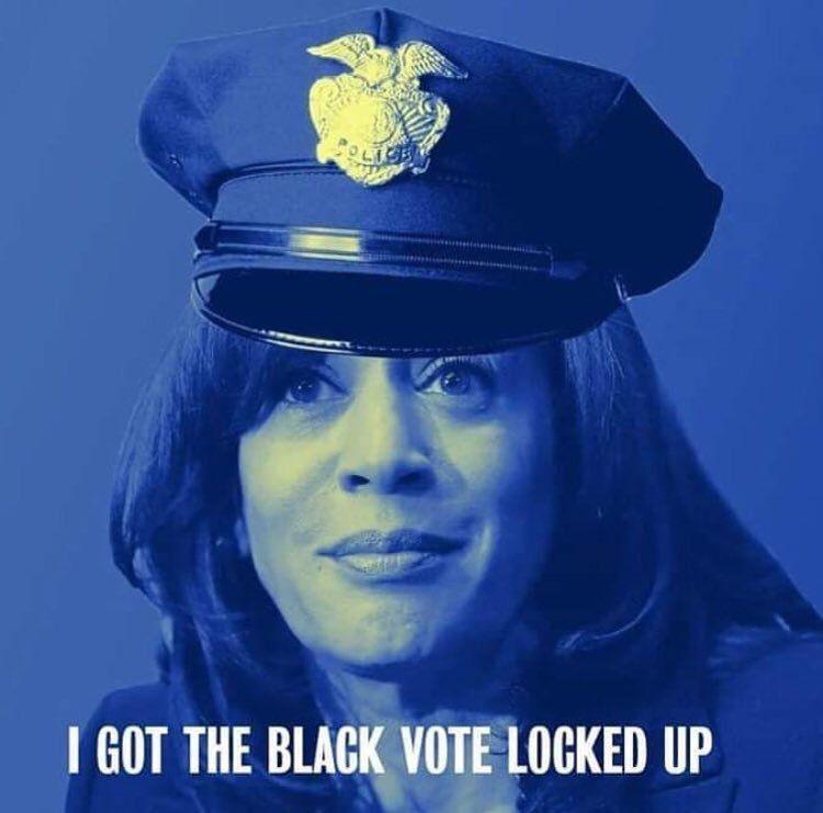 kamala the cop