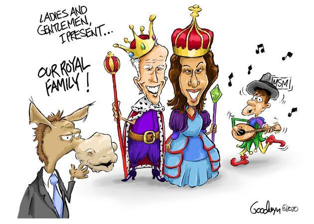 royal family kamala harris joe biden