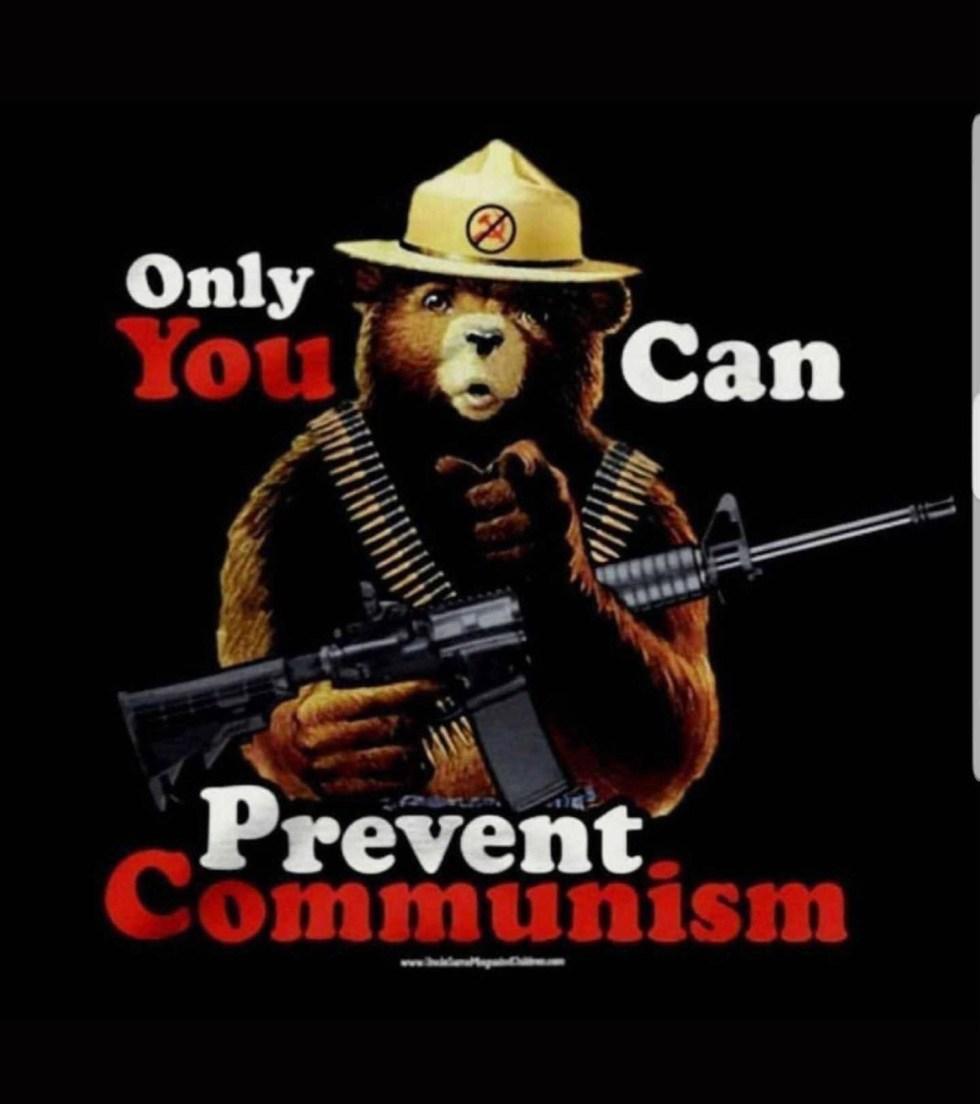 smokey bear communism
