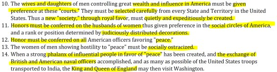 Lillian Scott Troy. (Feb. 17, 24, 1912). The 24-step Pilgrims Society Corporatist Imperial Federation Strategy to Return America to British Rule, with preamble by Hon. Dr. Lt. Commander Jacob. Thorkelson, MN, 1940. The San Francisco Leader, GPO, George Mason.