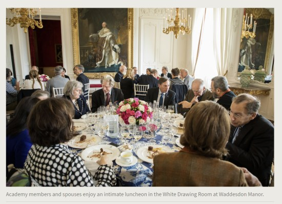 Press Release. (Oct. 10, 2017). 52nd International Academy of Achievement, London and Oxfordshire, keynote speaker Neil Gorsuch. U.S./UK Pilgrims Society. (Academy members, including David Petraeus, Lord Jacob Rothschild, Ehud Barak, and spouses enjoy an intimate luncheon in the White Drawing Room at Waddesdon Manor.