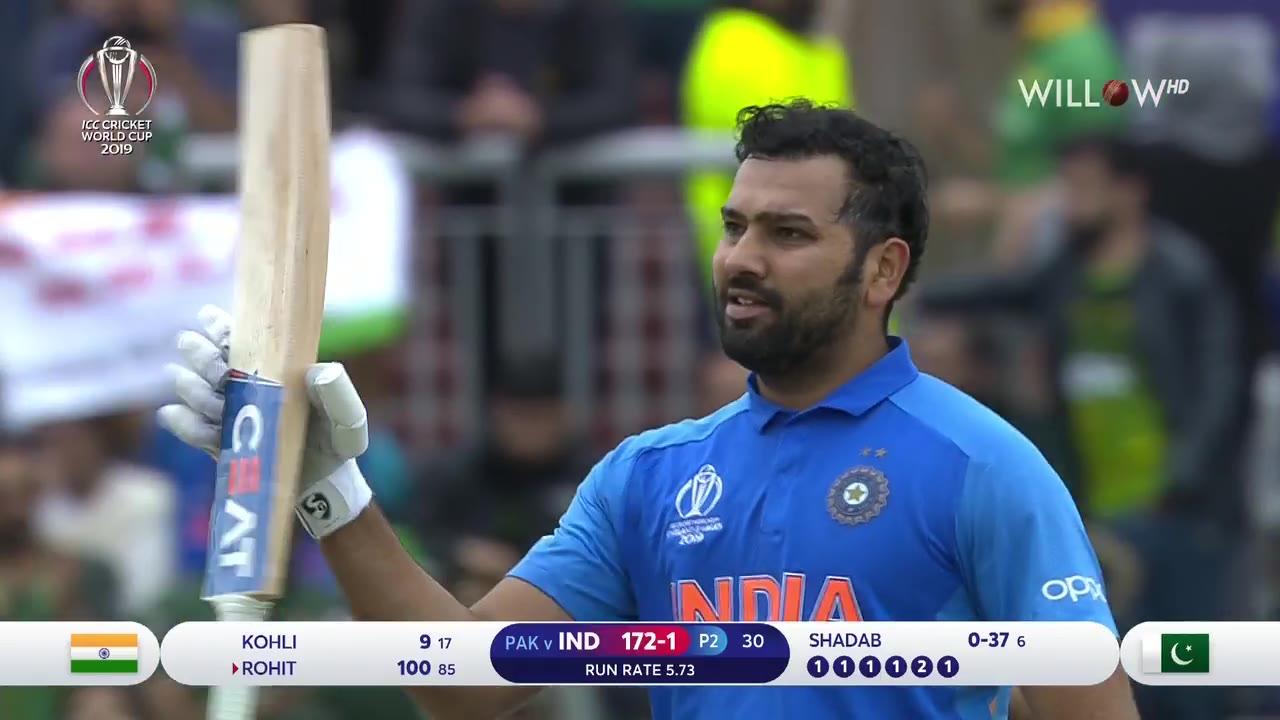 Rohit Sharma 140 runs vs Pakistan  IND vs PAK Match 22