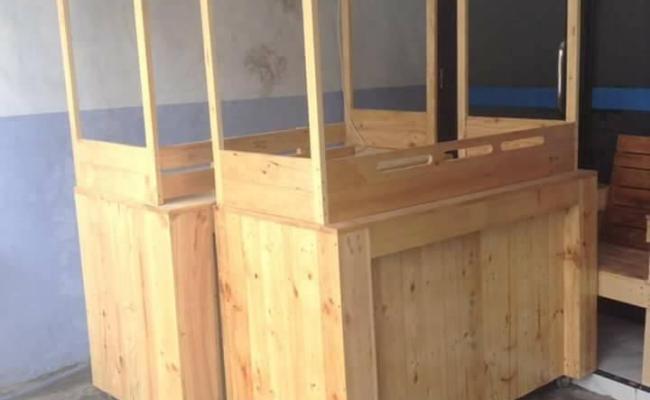 Booth Jati Belanda Aim Furniture
