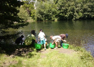 Projet collectif : aménagement d'un spot de pêche