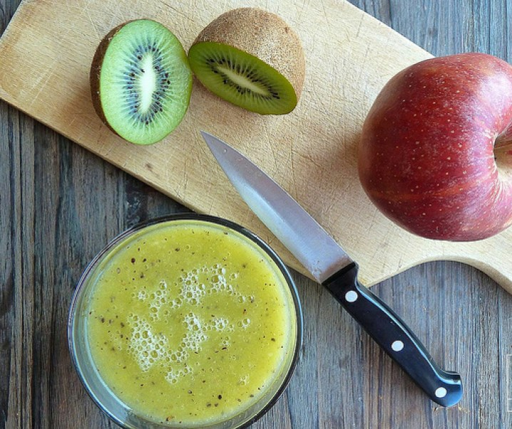Smoothie pomme, kiwi, « le frenchie »