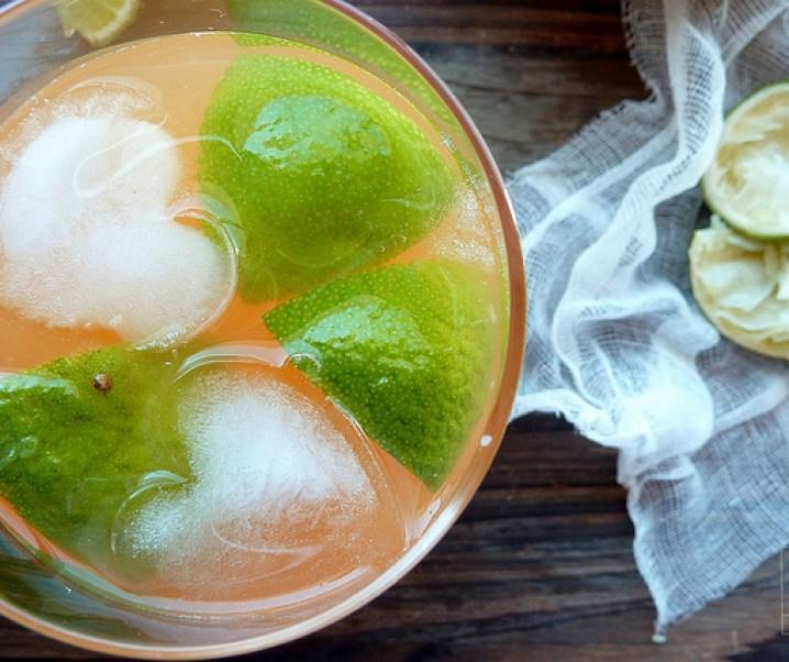 Limonade au melon et au citron vert