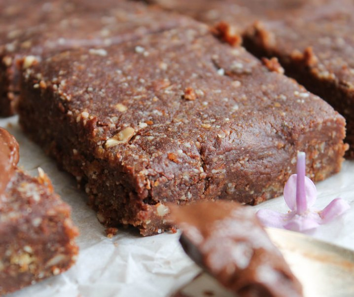 Brownie cru {vegan, sans gluten}
