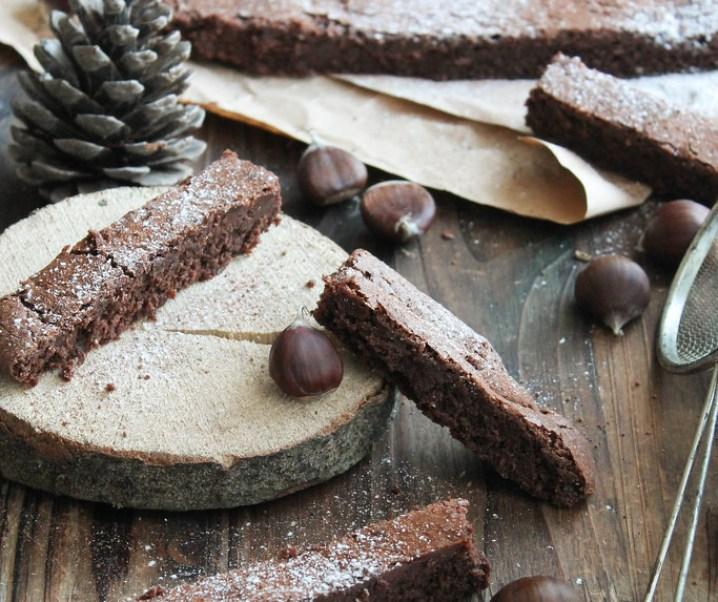 Fondant chocolate con aceite de oliva {libre de gluten- sin leche}