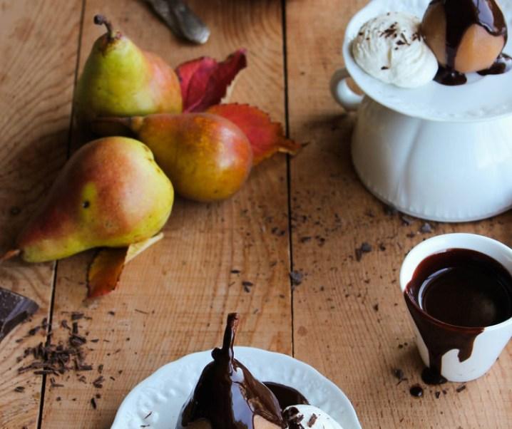 Pear Chocolate