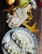 Asado ensalada de patata dulce, lentejas y granada