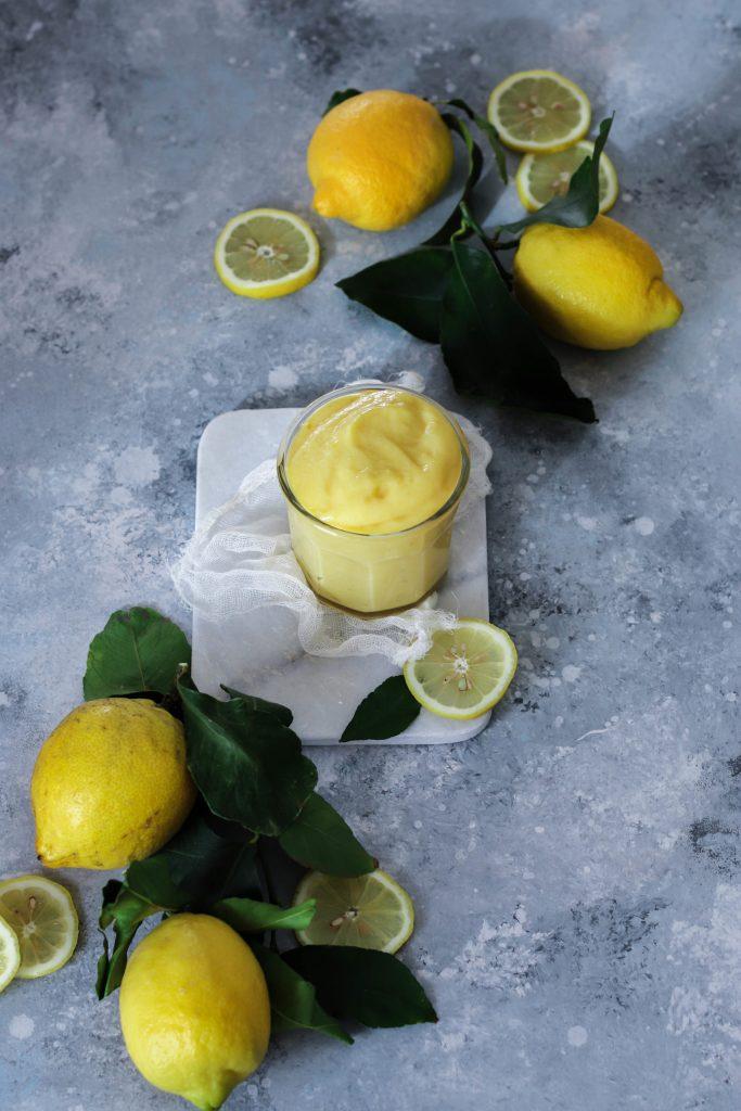Lemon curd {sans lait}