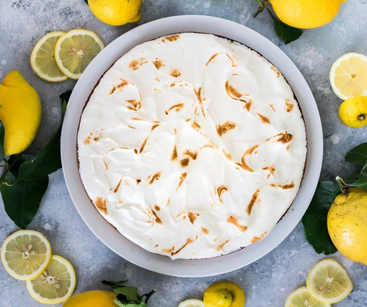 Tarte au citron meringuée {sans gluten – sans lait}