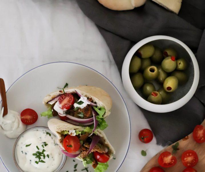 Kebab de seitan {vegan}