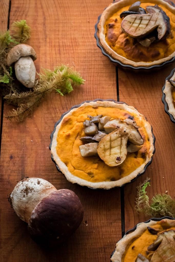 recette champignons des bois