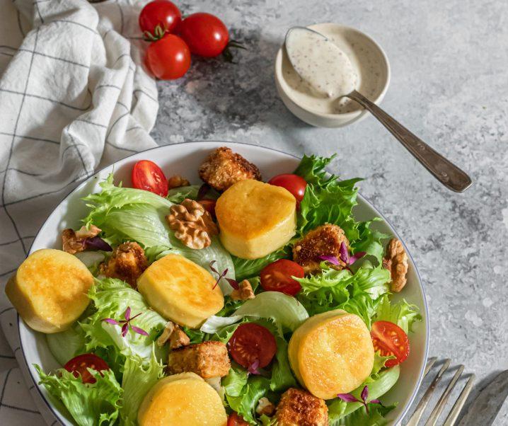 Salade composée façon César salade