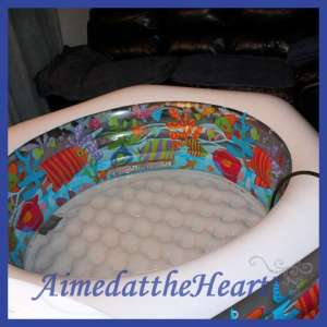 Unassisted home water birth story